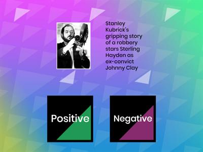 Positive and Negative Adjectives for Film Reviews