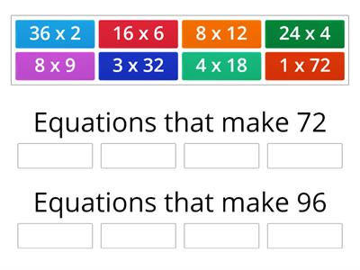 Equivelant Equations 2