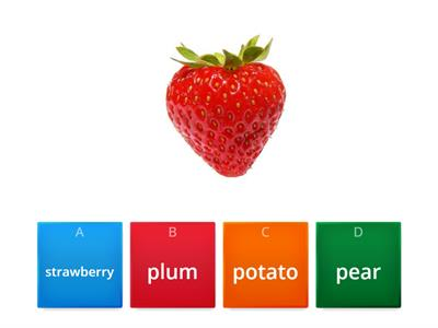 PL2 FRUIT AND VEGETABLES revision