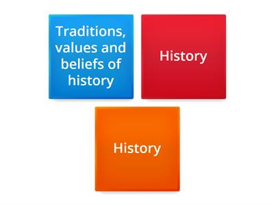 History - Element of Culture