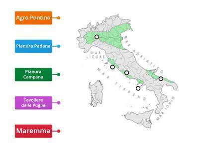Cartina Italia Pianure.Gioco Le Pianure Risorse Per L Insegnamento