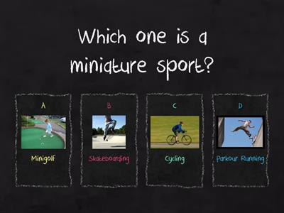 Quiz About Sports-(ICT Project)