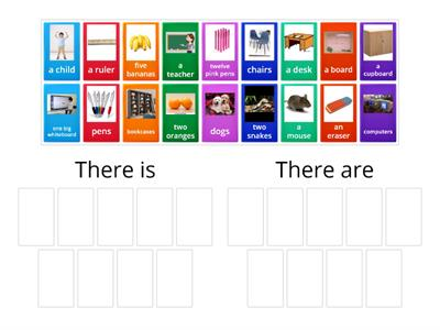 There is / There are Group Sort