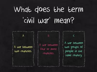 English Civil War - Key Terms