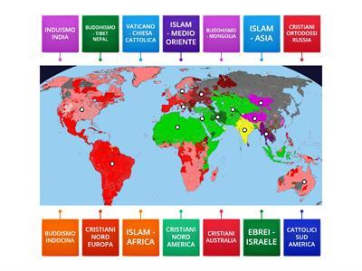 Cartina Del Mondo Con Le Diverse Religioni.Religione Religioni Monoteiste Risorse Per L Insegnamento
