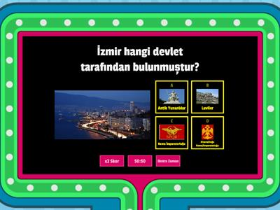 İZMİR WORDWALL TESTİ