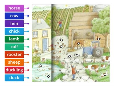 Farm animals Longman Children's Picture Dictionary