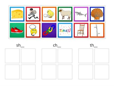 Copy of Digraph sorting sh ch th