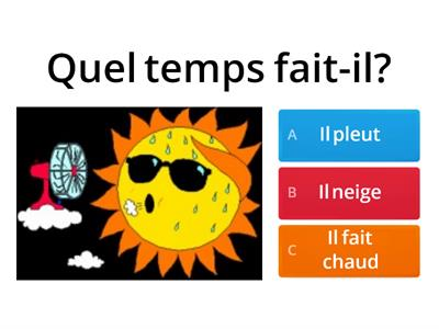 Weather french