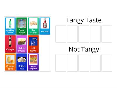 7Eb Tangy Tastes Card Sort