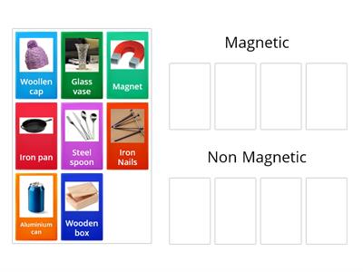 Magnetic and Non Magnetic Materials