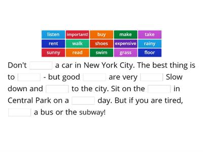 Plan your trip to NY