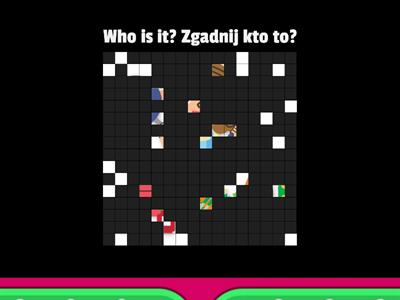 Who is it? Zgadnij kto to? Family