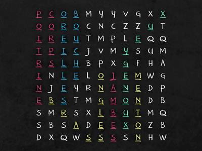 French Wordsearch
