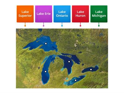 The Five Great Lakes
