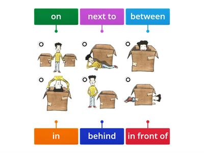 Prepositions A1