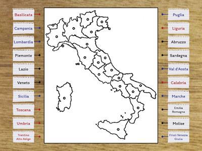 Cartina Muta Puglia.Geografia Italia Muta Risorse Per L Insegnamento
