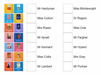 Teachers' Favourite Books!