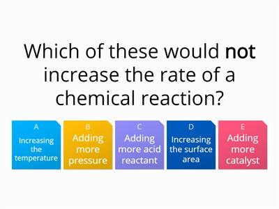 C2 Rates of reaction