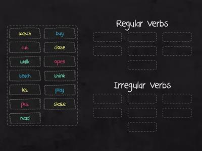 Past Simple (Regular Irregular Verbs)