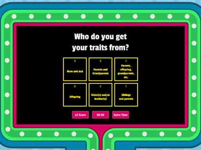 Heredity Gameshow Quiz!