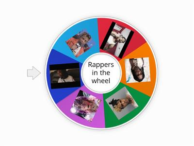 spin the rapper wheel
