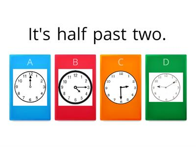 Choose the Correct Clock
