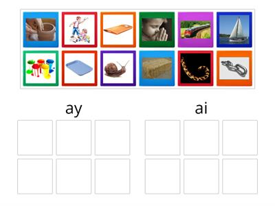 ai or ay picture sort
