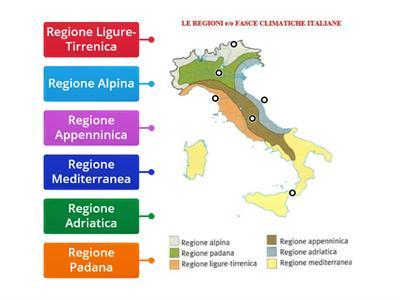 Cartina Italia Zone Climatiche.Le Regioni Climatiche Italiane Risorse Per L Insegnamento