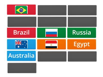 COUNTRIES - Memory game