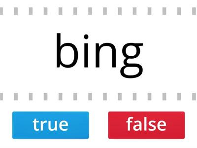 Rule Breakers/ Closed Syllables- the Rule Breakers (ing)  (ang) are TRUE