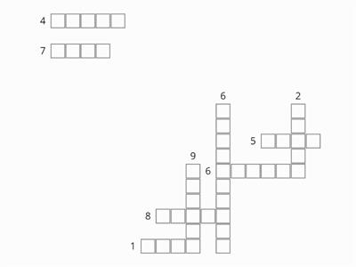 LESSON 29 CROSSWORD