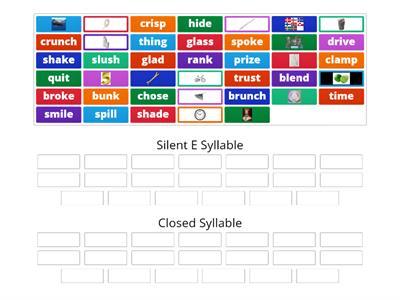 Wilson 4.1 v-e vs Closed Syllable Sort