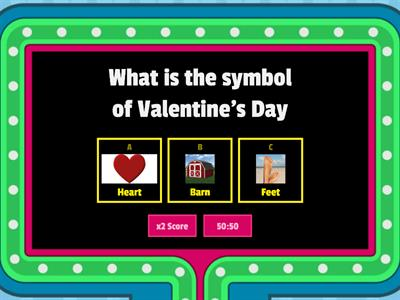 /R/ Articulation Valentine's Day Quiz