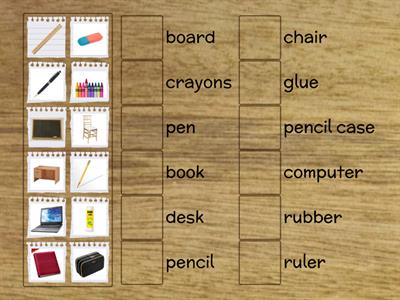 Brainy 4 - unit 1 - Classroom objects