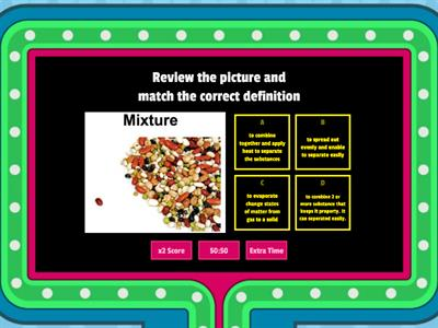 Mixtures including solutions