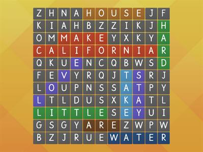 Word search E & L