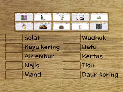 ALAT BERSUCI (MATCH UP)