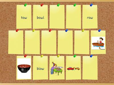 Long Vowels - ow (Task 3)