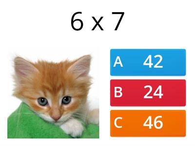 7 and 8 times tables