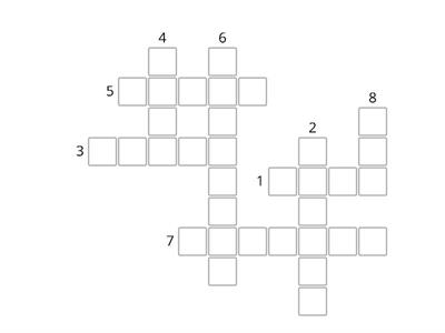 Crossword Story 8 Kid's Box 3