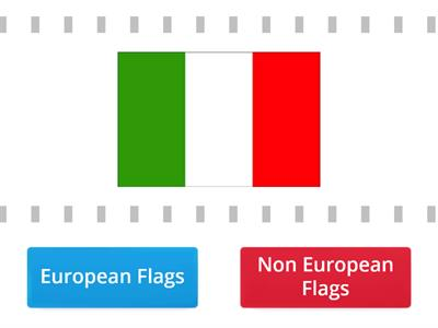 European Flags - (Using true or false)