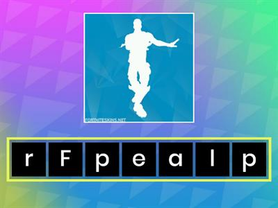 Anagram: FORTNITE