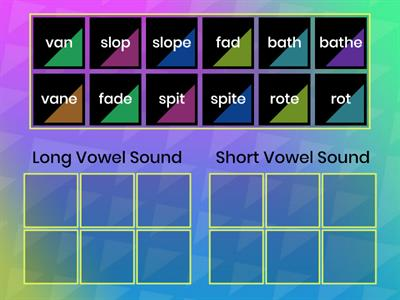 Long or Short Vowel Sound?