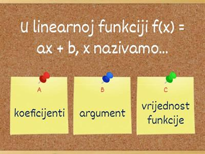 Copy of  Linearna funkcija