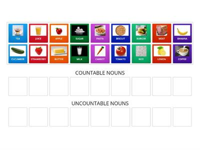 Right on 1: Countable & uncountable nouns