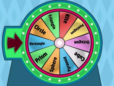 Shapes wheel