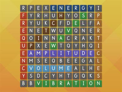 Sound Wordsearch