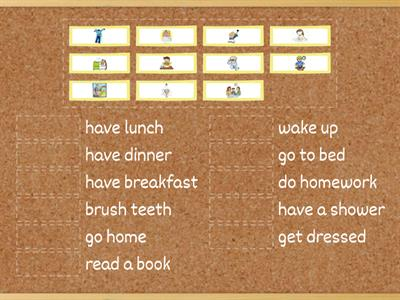 Gr 2 -Daily Routines