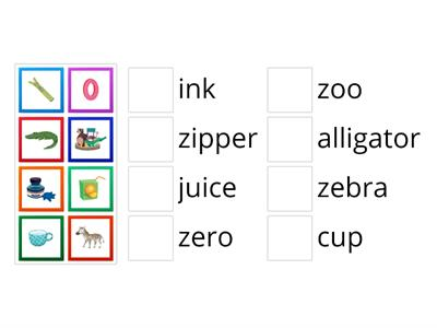 Oxford Phonics Z and other letters